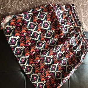 NWOT Kavu True Outdoor abstract patterned skirt